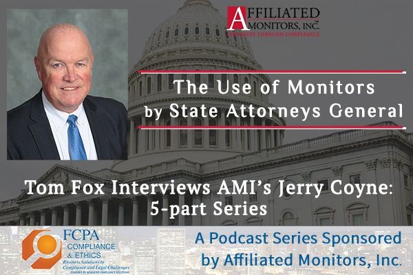 Gerry Coyne on Tom Fox's FCPA Podcast