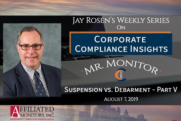 Jay Rosen, Mr. Monitor