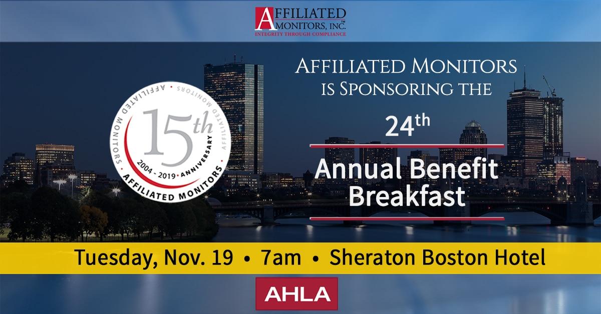AHLA Benefit Breakfast in