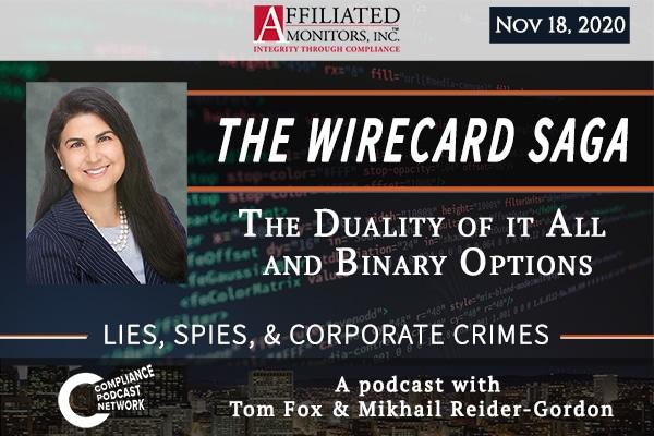 Promotional image for Mikhail Reider-Gordon's Wirecard 11/18/20 podcast episode