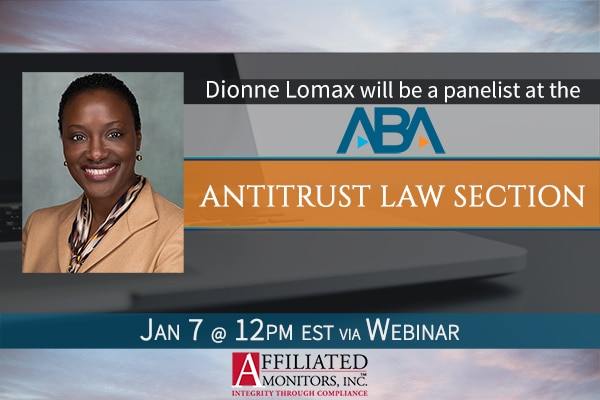 Promotional image for Dionne Lomax's webinar with the ABA