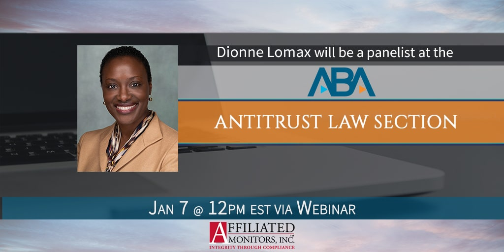 Promotional image Dionne Lomax's webinar with the ABA
