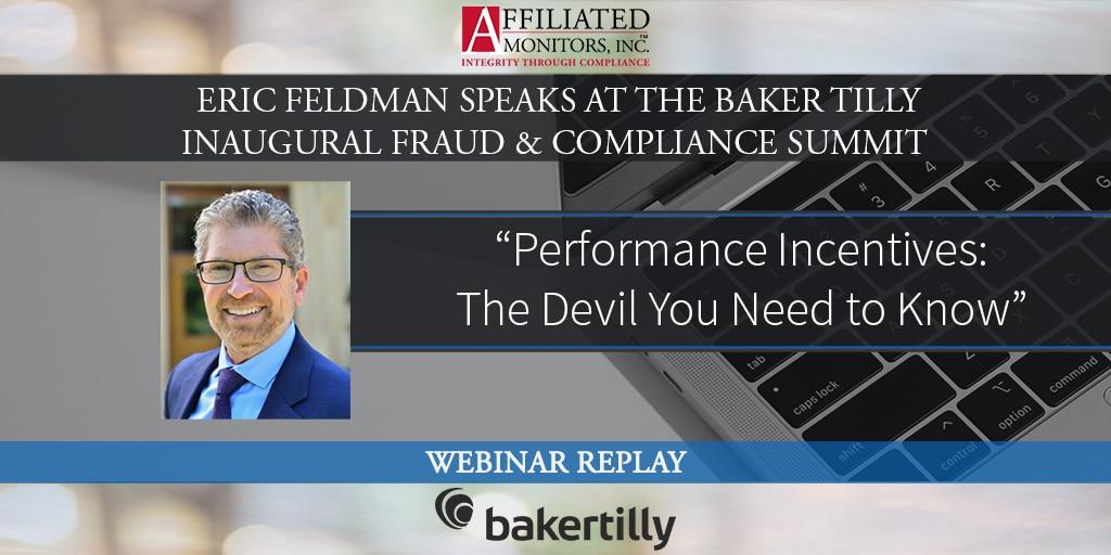 Eric Feldman promo image for Baker Tilly webinar replay