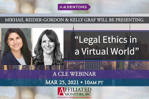 Promo image for Mikhail and Kelly Graf's CLE webinar