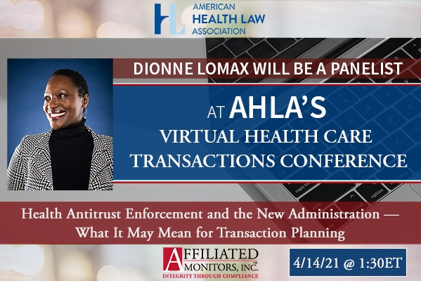 Dionne Lomax AHLA Panel Promotion