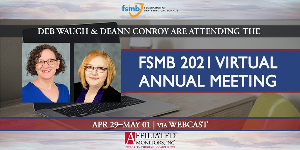 Deb Waugh and Deann Conroy for FSMB 2021