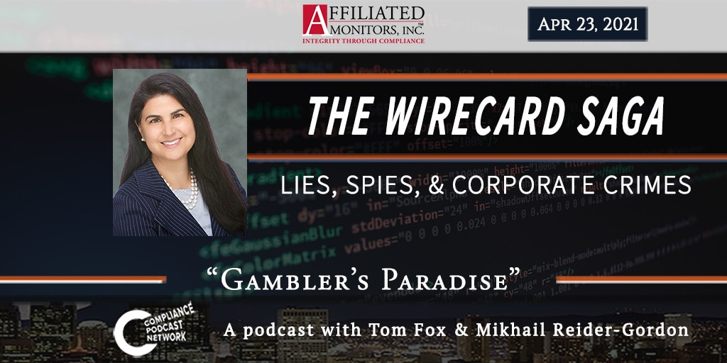 The Wirecard Saga podcast episode from April 23, 2021