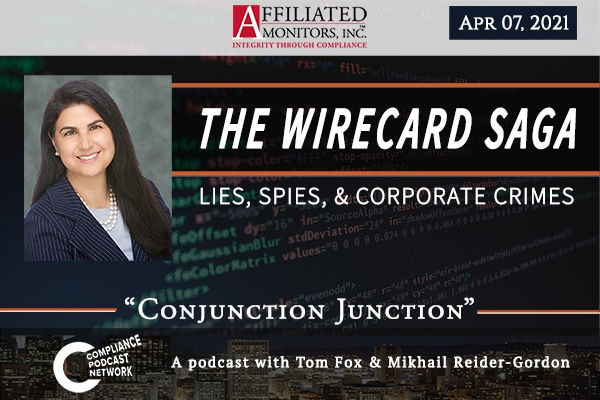 The Wirecard Saga podcast episode from April 7, 2021
