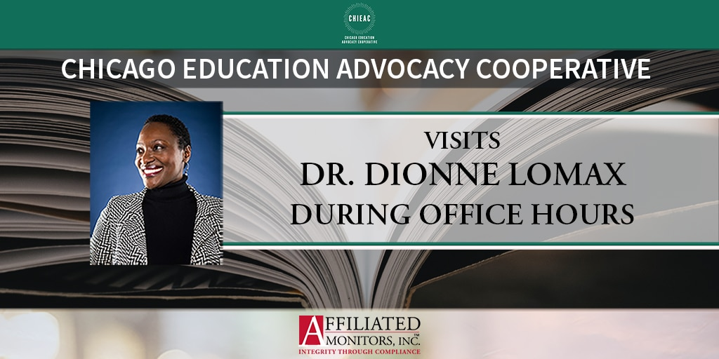 Visits Dr. Dionne Lomax During Office Hours